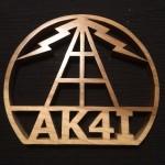 AK4I Plaque