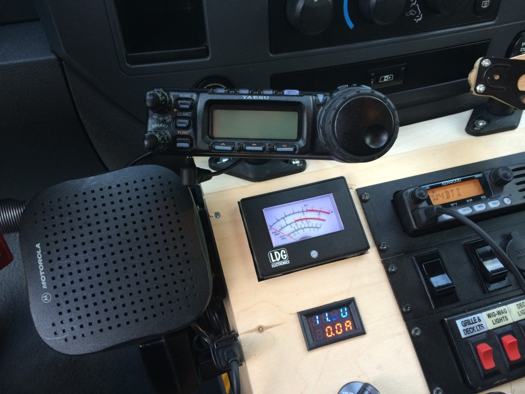 Mobile ham radio console welcome to the home of k4nhw for Console mobile
