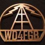 WD4FGB Plaque